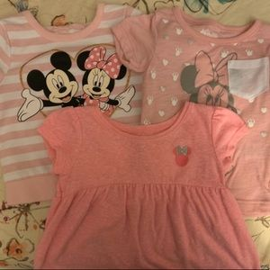 Minnie Mouse Bundled Tops